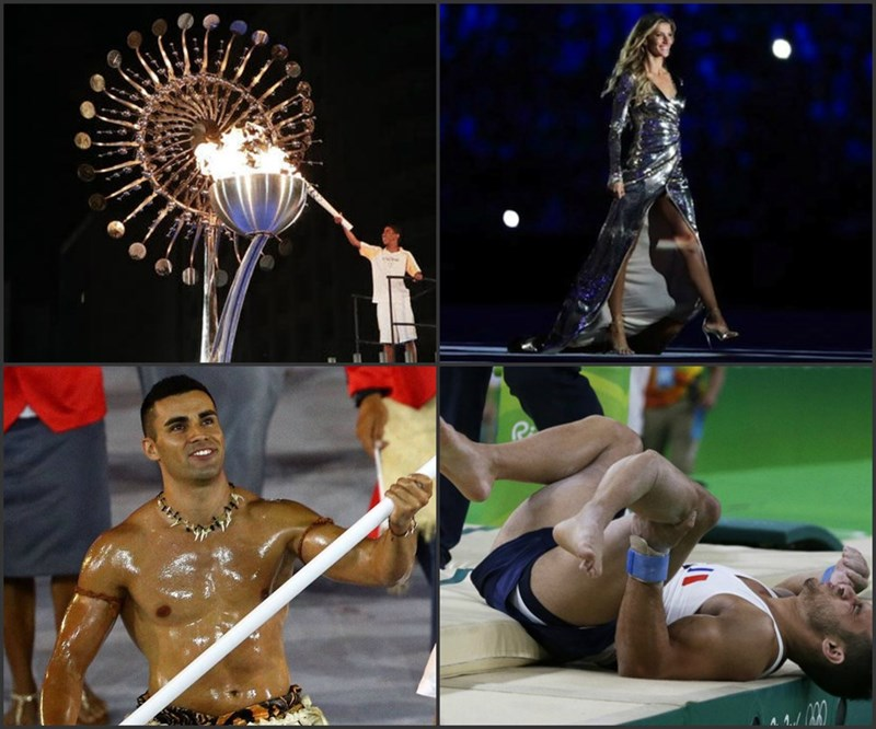 Rio Olympic Highlights 2016 funny lists