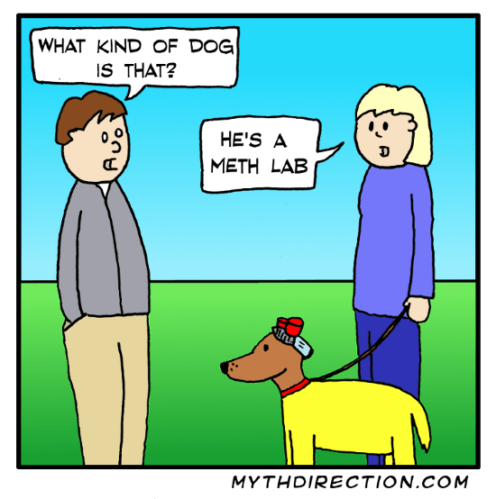 web comics dogs puns How Pure Is He?