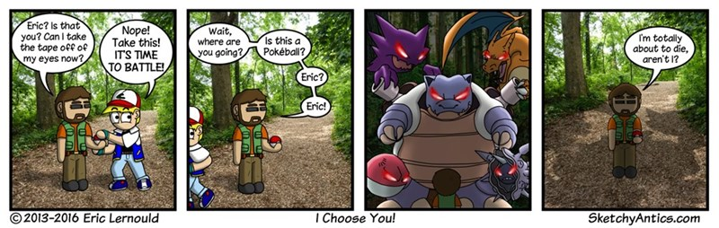 web comics pokemon go dangerous Pokemon Go Can Be Dangerous if You Aren't Aware of Your Surroundings