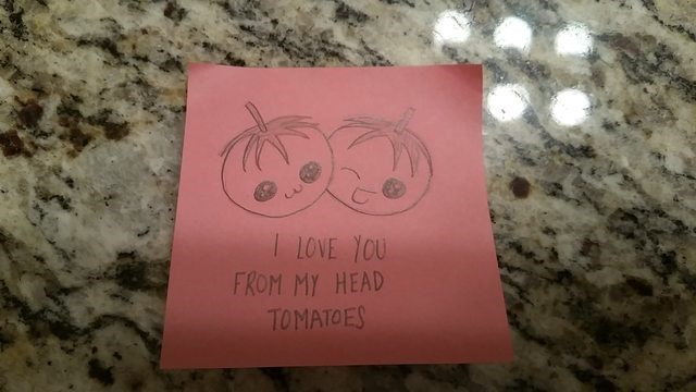 Pink - LOVE YOU FROM MY HEAD TOMATOES