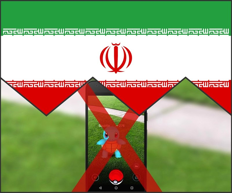 trending pokemon go iran jail law