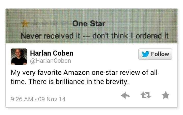 reviews twitter amazon - 8968224768