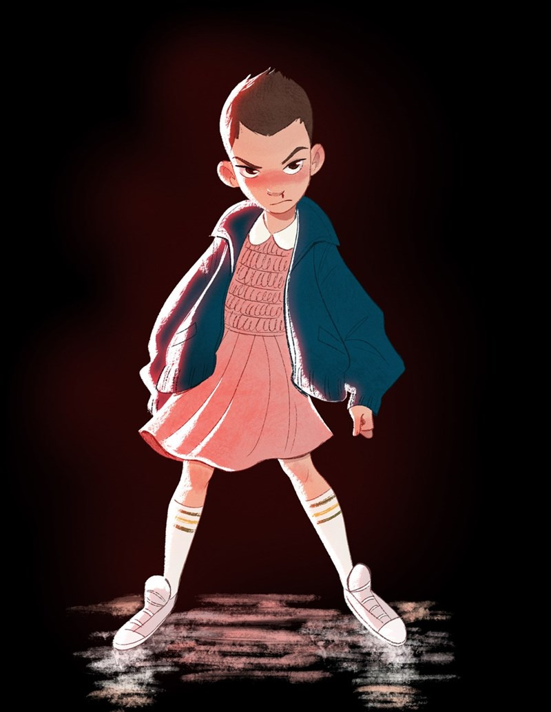 eleven stranger things - 8968399616