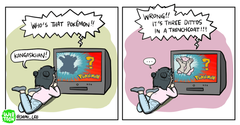 web comics pokemon ditto Aw, That's What It Is Every Week