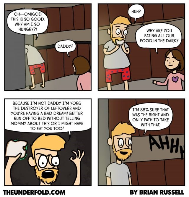 web comics parenting monster Great Parenting