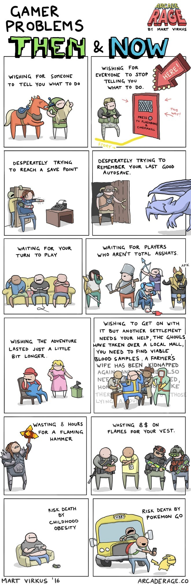 web-comics-gamer-problems-then-vs-now