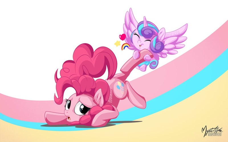 flurry heart the crystalling pinkie pie - 8968491264