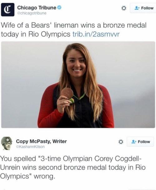 twitter,typos,olympics