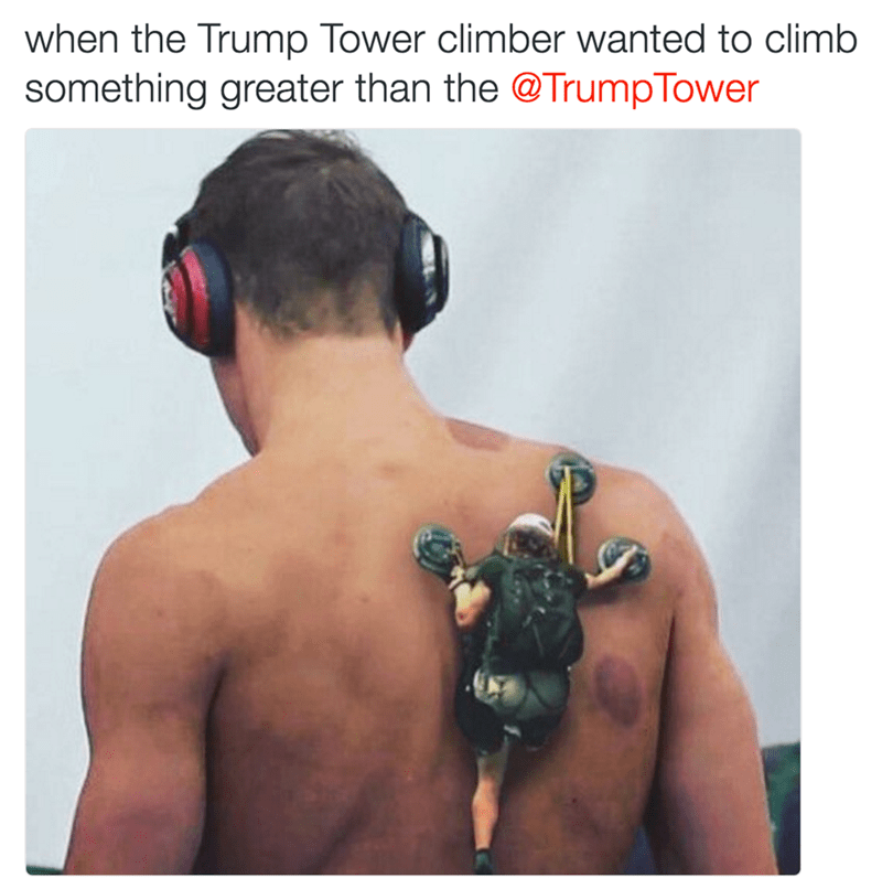 trump tower photoshop michael phelps You Have to Practice Before Going for Gold