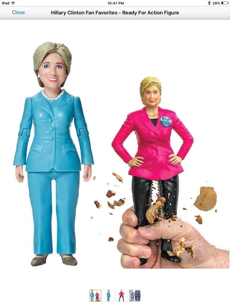 Hillary Clinton puns nuts - 8968635648