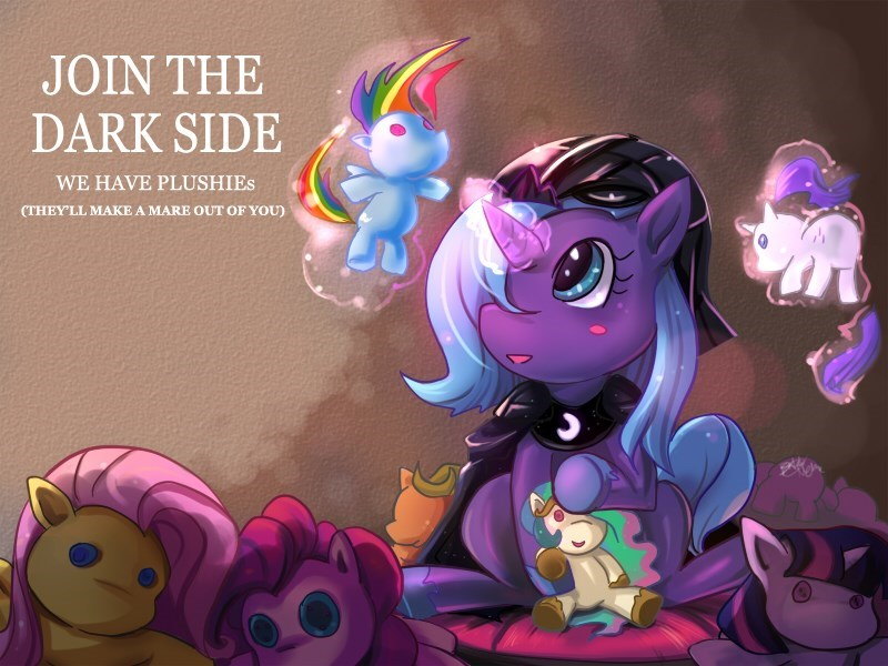 applejack star wars Plushie twilight sparkle woona pinkie pie princess luna rarity princess celestia fluttershy rainbow dash - 8968776960