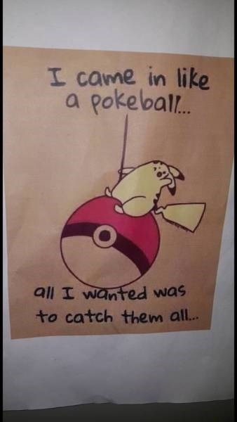 image pokemon parody All You Ever Did Was Break Free