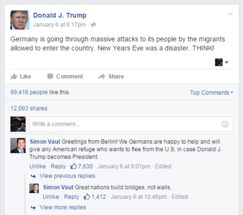 donald trump,failbook,facebook