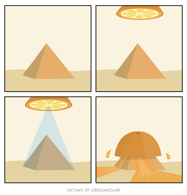 web comics aliens pyramid Oh That's What the Aliens Made Them For