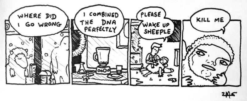 web comics literalism wake up sheeple