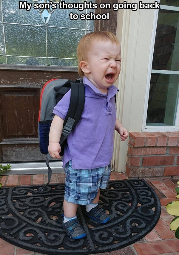 kids parenting back to school