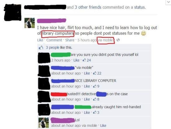 failbook,facebook,library