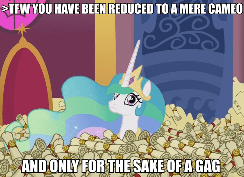 oh how the mighty have fallen princess celestia - 8969106688