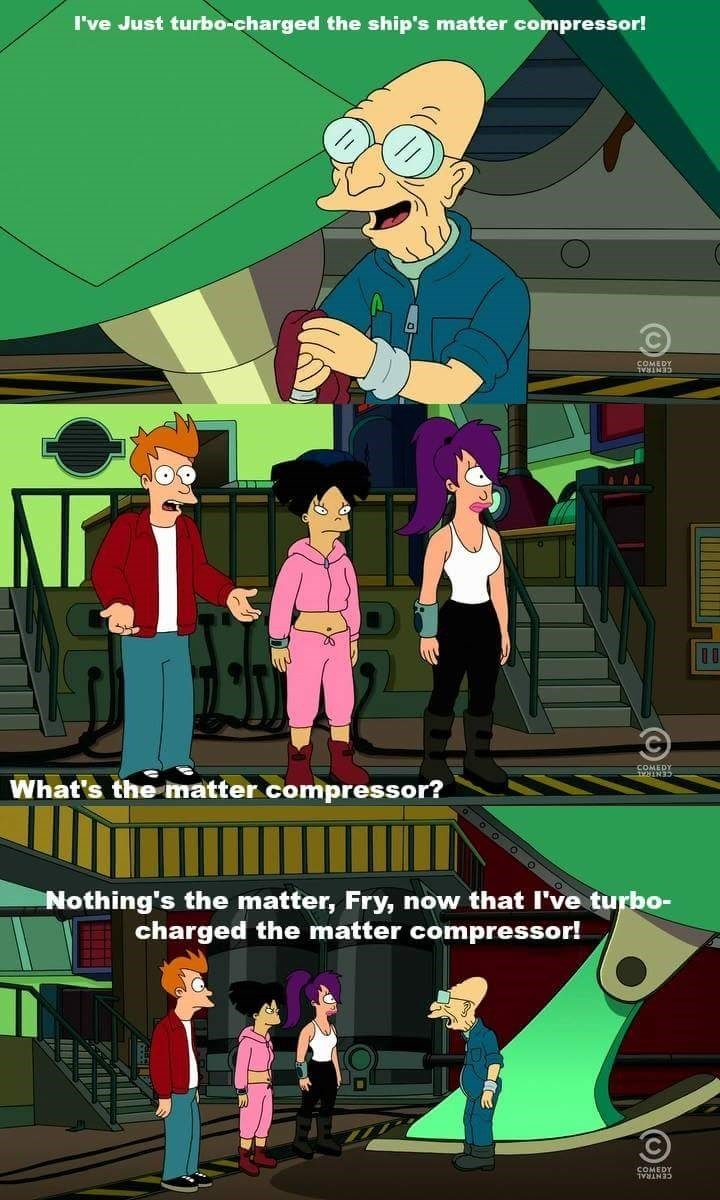 dad jokes futurama fry - 8969330688