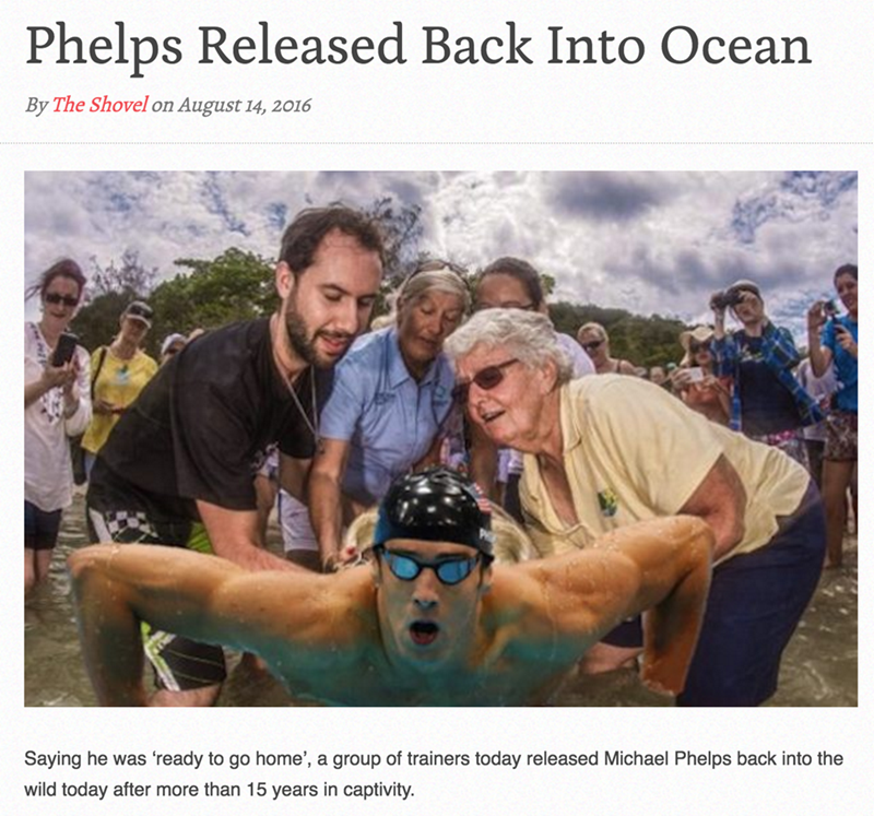 michael phelps parody olympics He Earned It