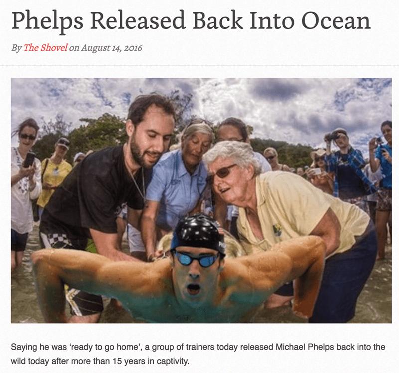 michael phelps parody olympics He Earned It