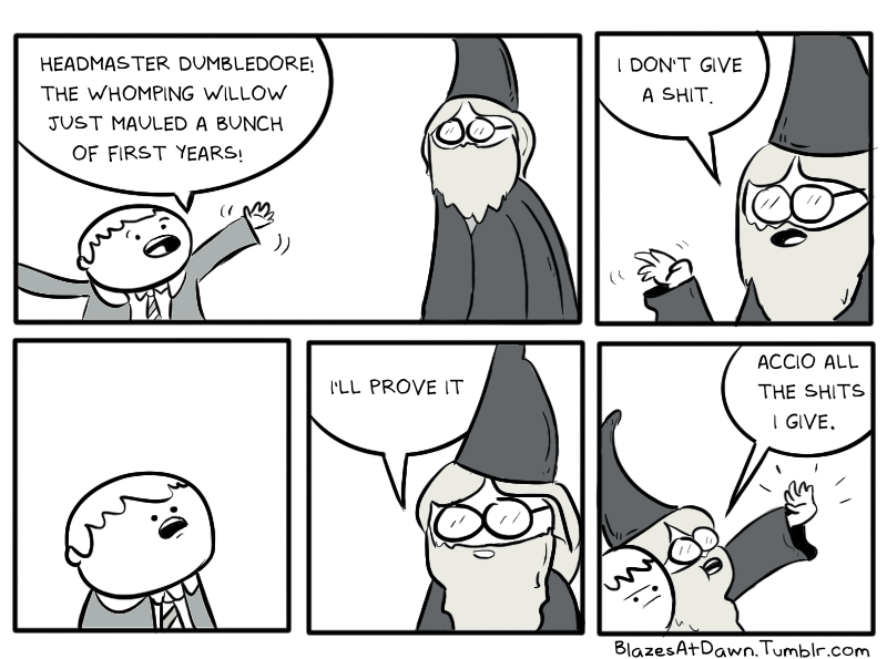 web comics harry potter magic So That's Why Those Kids Could Do Anything They Wanted To