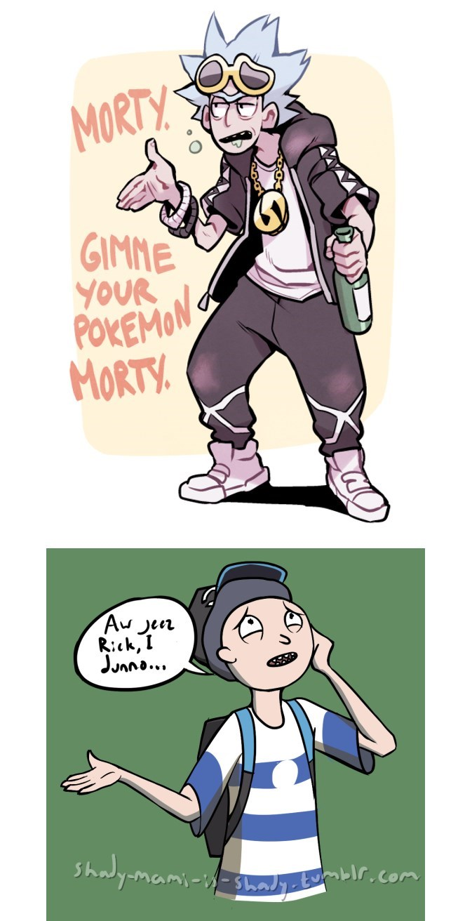 rick and morty Pokémon - 8969475840