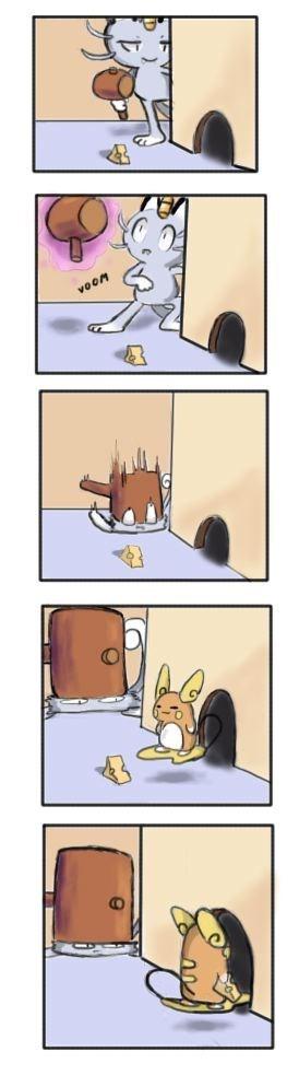 Meowth raichu Pokémon - 8969518336