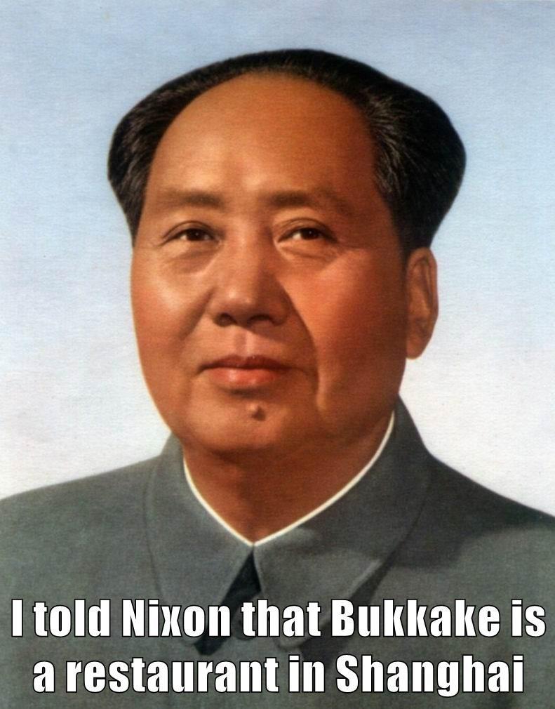 I told Nixon that bucakeke is a restaurant in Shanghai