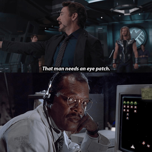 funny-superheroes-moment-with-nick-fury-and-robert-downey-jr