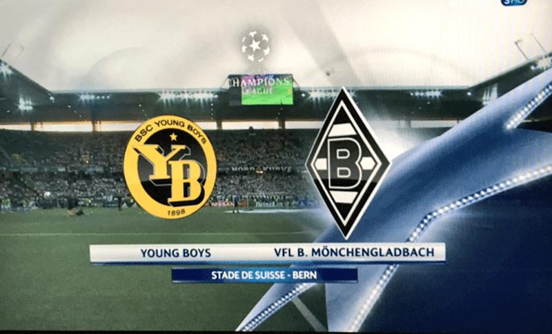 Stadium - CHAMPIONS ACU YOUNG BOYS BSC Heiscn 1898 VFL B. MÖNCHENGLADBACH YOUNG BOYS STADE DE SUISSE BERN