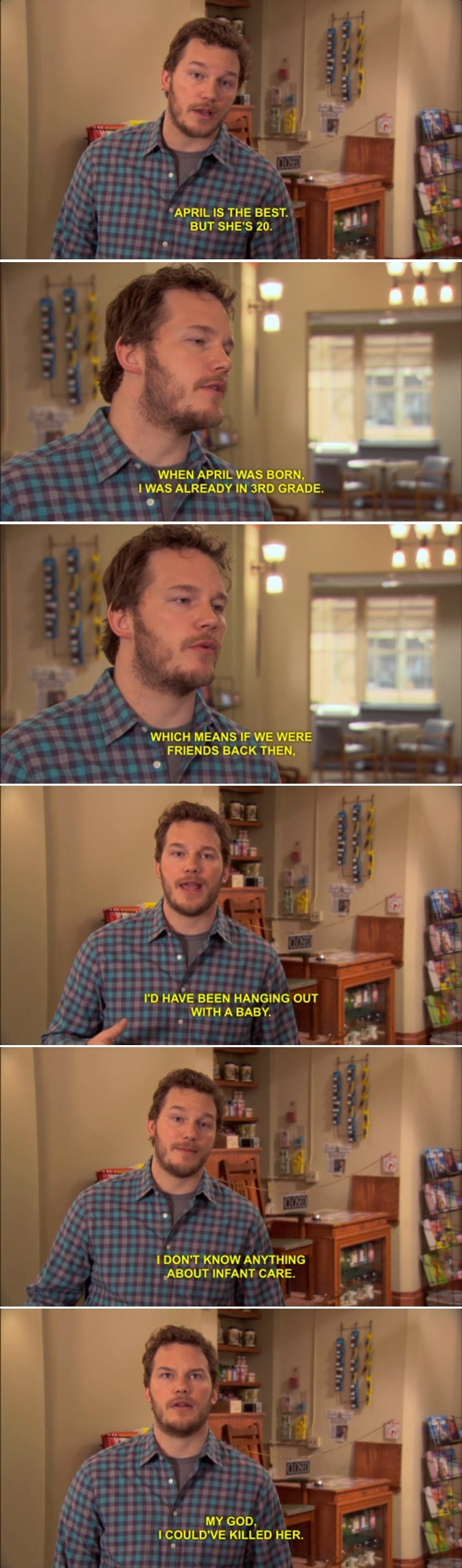 parks and recreation,dating