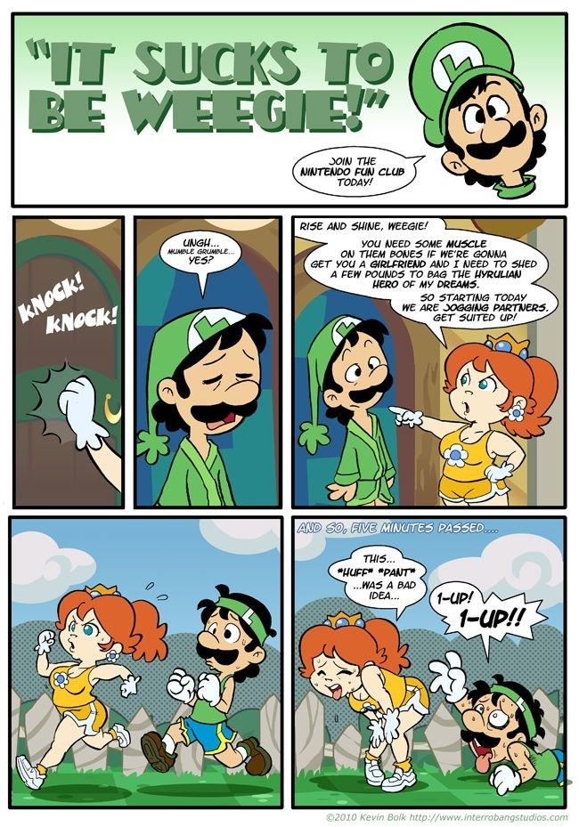 luigi Super Mario bros nintendo web comics - 8969984512