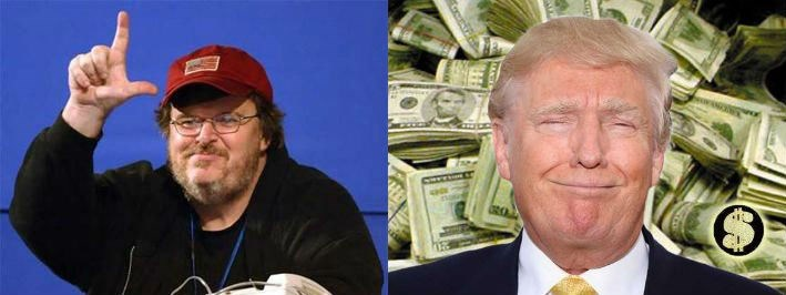 trending politics news donald trump president michael moore tv deal conspiracy theory