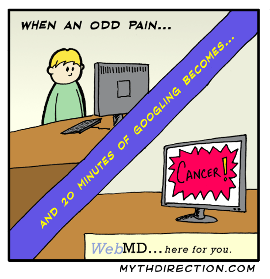 web comics cancer webmd Don't Worry, It's Probably Just a Brain Eating Ameboa