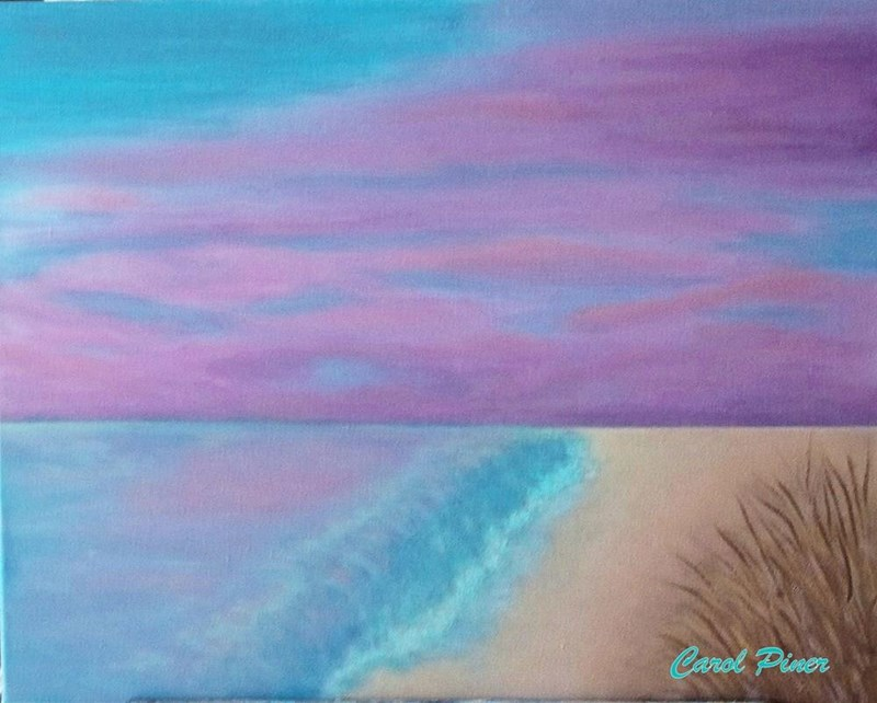 """I call this 16x20"""" painting The View (for sale)"""
