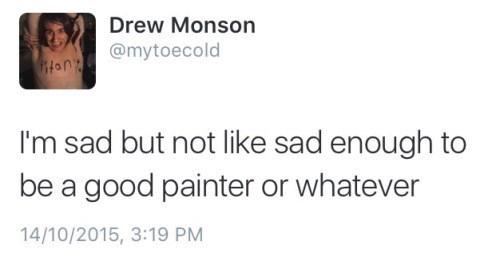 Sad twitter painting - 8970173952