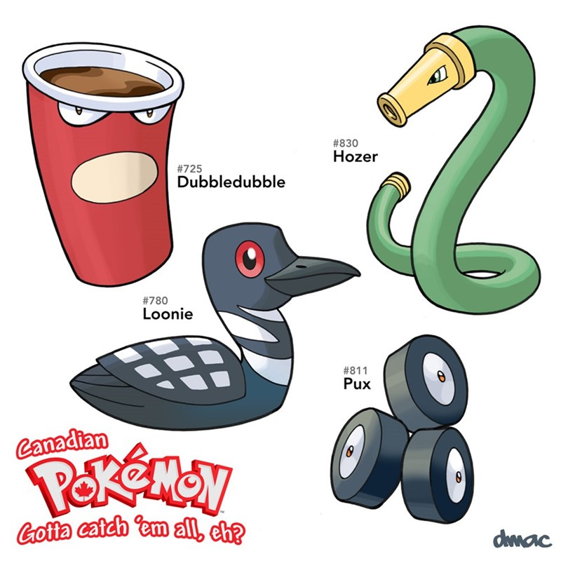 Canadian Pokemon