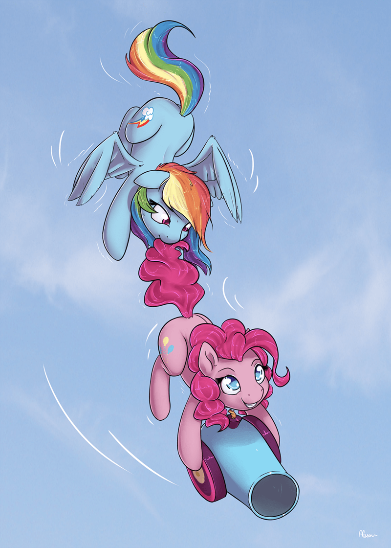 pinkie pie rainbow dash - 8970332672