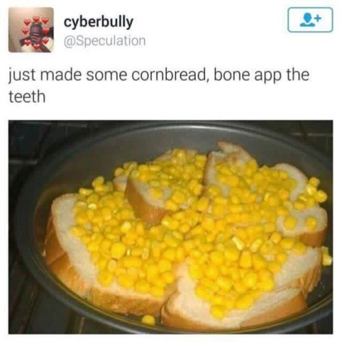 twitter,corn bread,food,FAIL