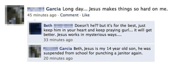 jesus failbook facebook