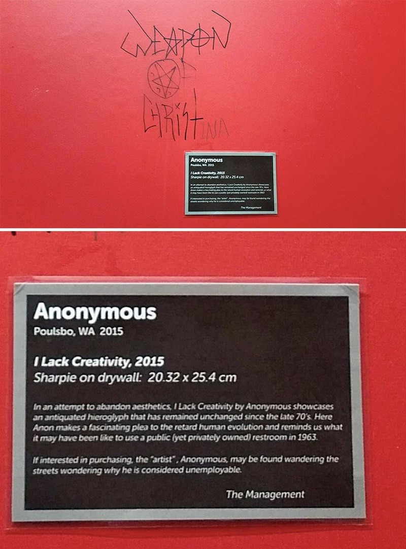 art trolling graffiti - 8970473984