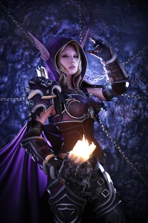 This WoW Sylvanas Windrunner Cosplay Is Practically a 3D Rendered Image
