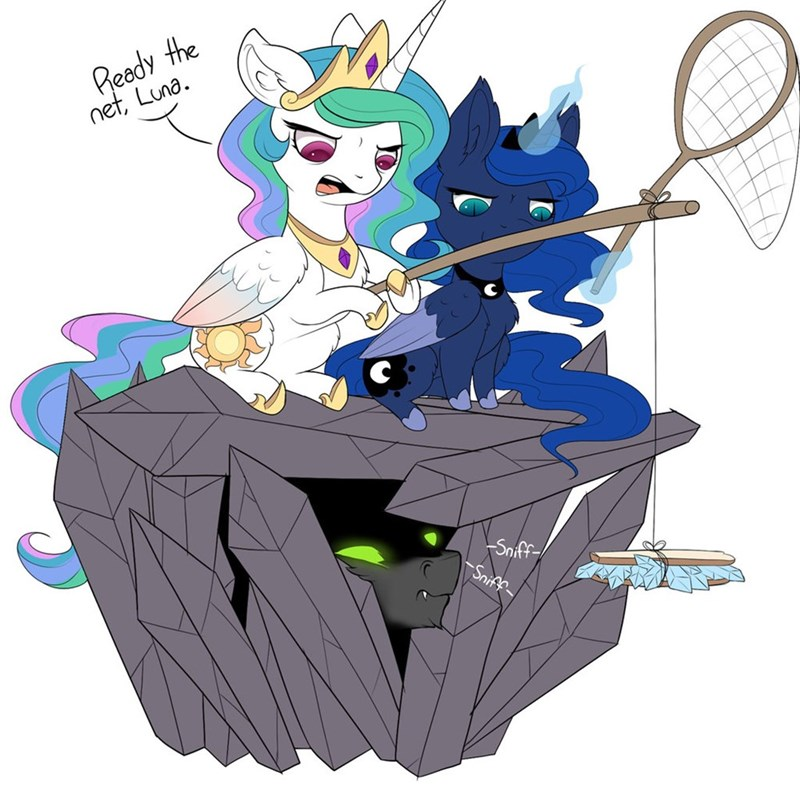 king sombra,princess luna,princess celestia