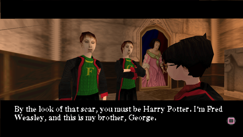 playstation Harry Potter bad graphics video games - 8970772224