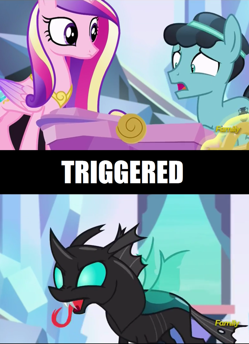 thorax princess cadence the times they are a changeling changelings - 8970811648