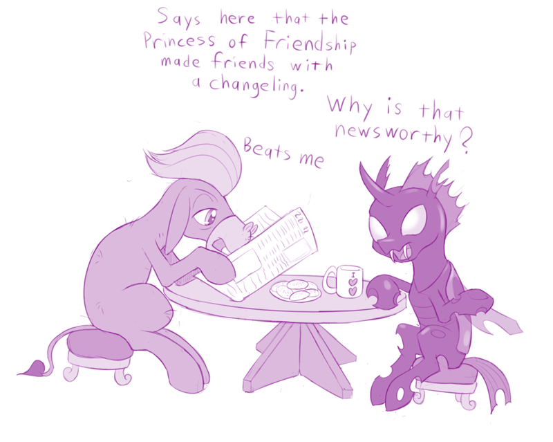 slice of life cranky doodle donkey the times they are a changeling changelings kevin - 8970946560