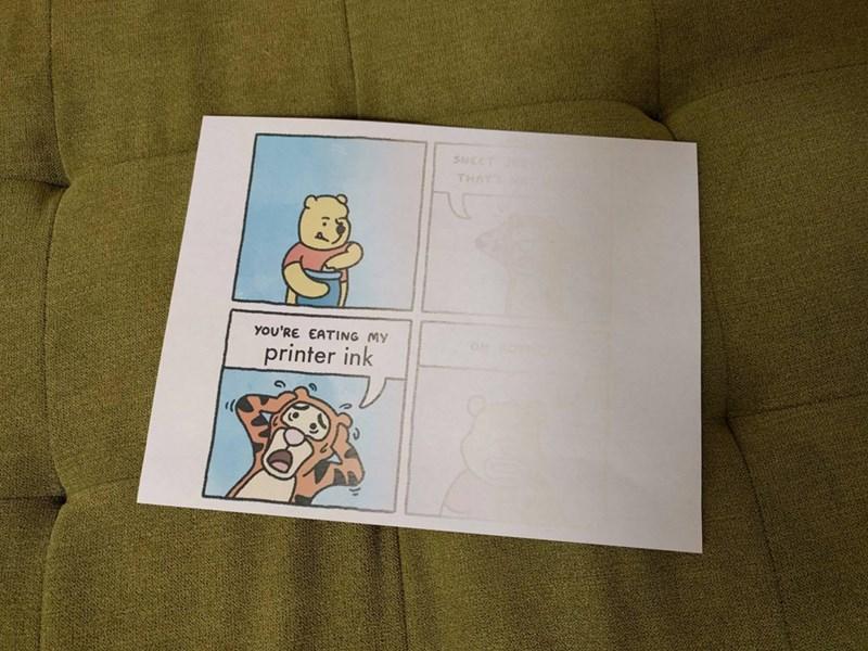 ink winnie the pooh image - 8971037696