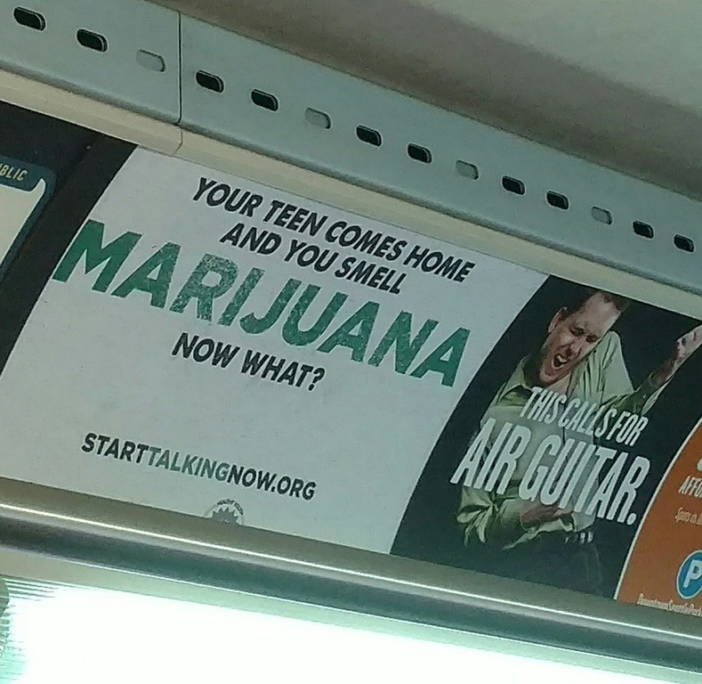 "trolling signs drugs This Ad Placement Will Teach You How to Be A ""Cool Dad"""