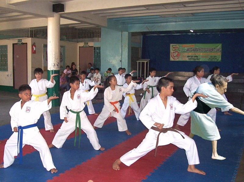 Karate - ENROLL NOW JUSMILO KARATEDO SUMMER CLINIC JACKE ALL